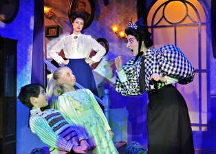 "Ashley plays Miss Andrew in Sierra Repertory Theater's ""Mary Poppins"""